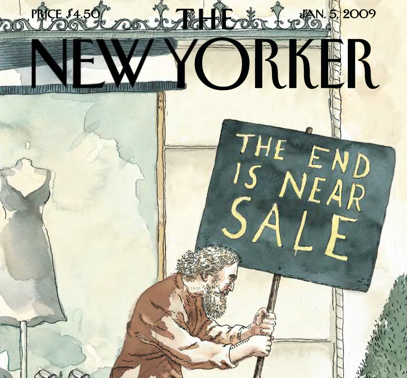 New Yorker Cover - The End is Near
