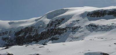 Way to Wapta Ice Field