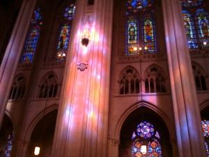 Light in St John the Divine