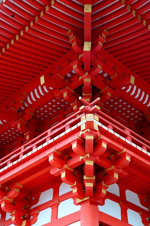 Pagoda at Kiyomizudera Temple