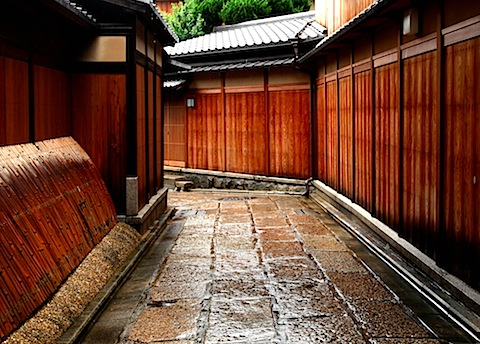 Old Kyoto alleyway