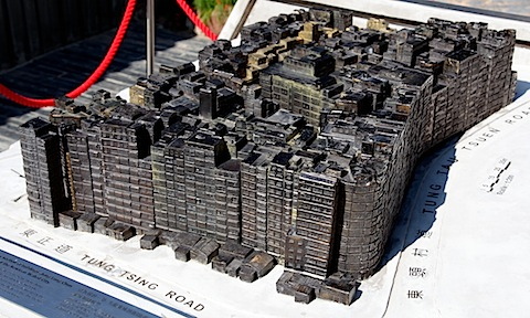 Bronze Model of Walled City