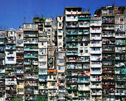 Kowloon Walled City in 1990s