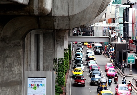 Traffic in Central