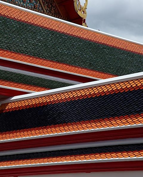 Roofs at Wat Pho