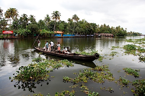 Punting in backwaters