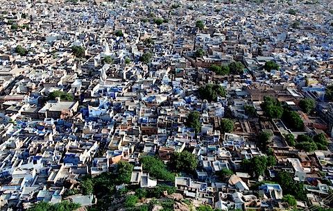 Jodhpur from Mehrangarh