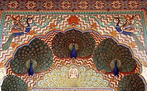 Door in Pritam Chowk