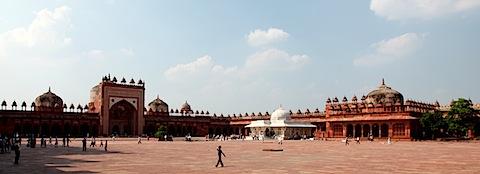 Inside Jama Masjid