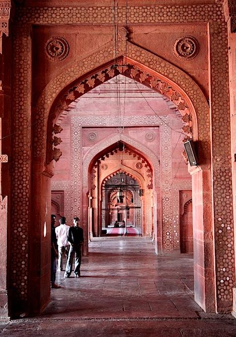 Hallway in Jama Masjid