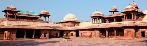 Inside Jodh Bai Palace