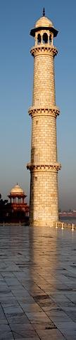 Reflecting Tower at Taj Mahal