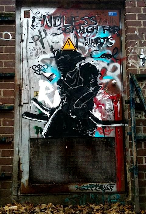 Samurai Street Art in Kreuzberg