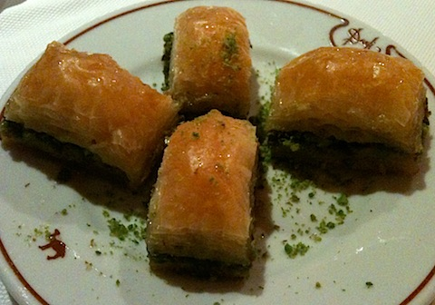 Baklava at Develi