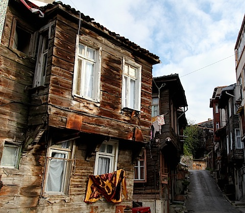 Wooden house in Fatih