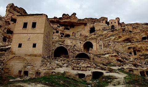 Old Dwellings in Cavusin