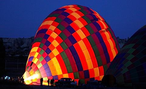 Balloon inflating