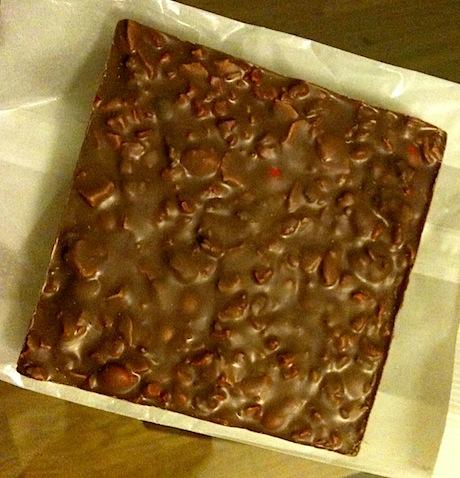 Bottom of Chocolate