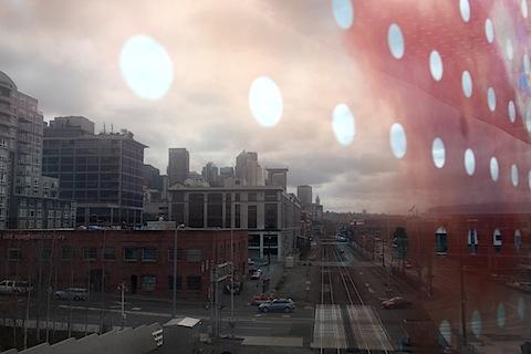 City seen through sculpture