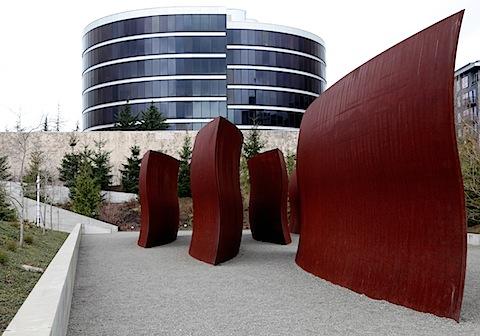 Richard Serra sculptures