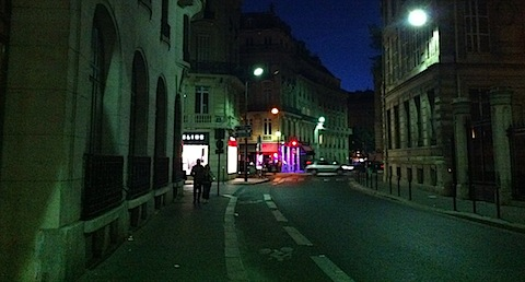 Evening Street Scene - Version 2