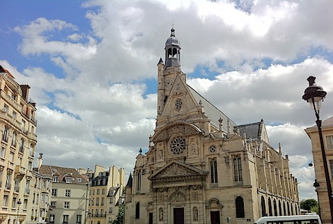 Paris Church