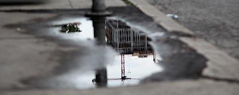 Reflected Crane