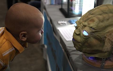 Cam Meets Yoda