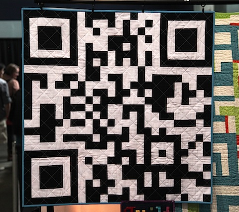Quilted QR Code
