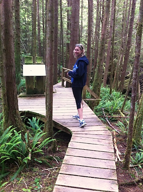 Wen at Rainforest Trail