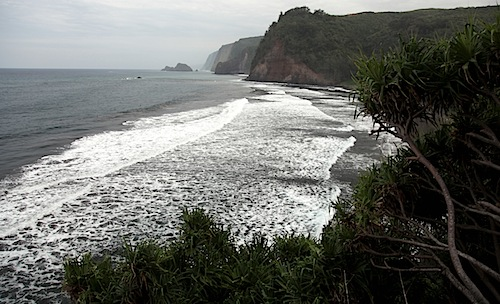 Beach at Pololu Valley