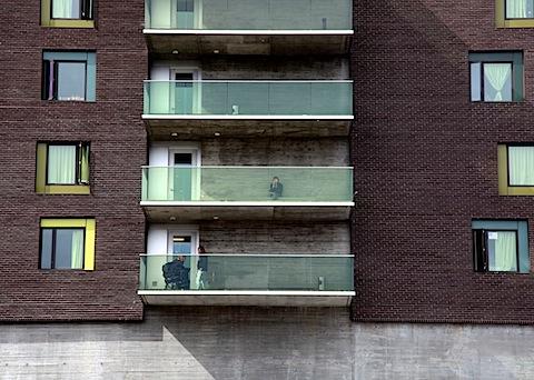 Bud Clark House Balconies