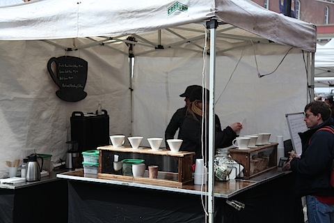Coffee at Saturday Market
