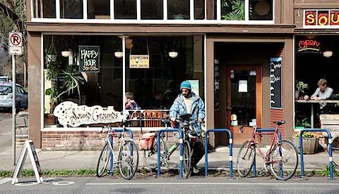 Bearded Guy with Bike (Sound Grounds)