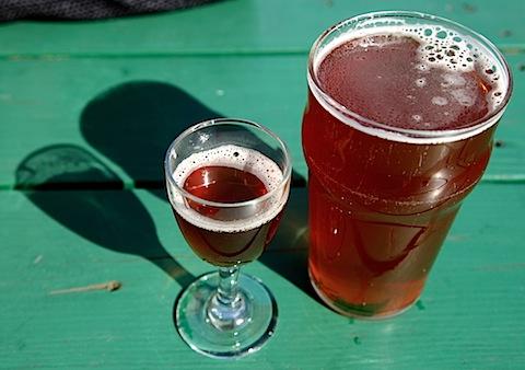 Beer at Cascade Brewing Barrel House