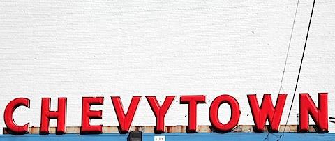Chevytown Sign