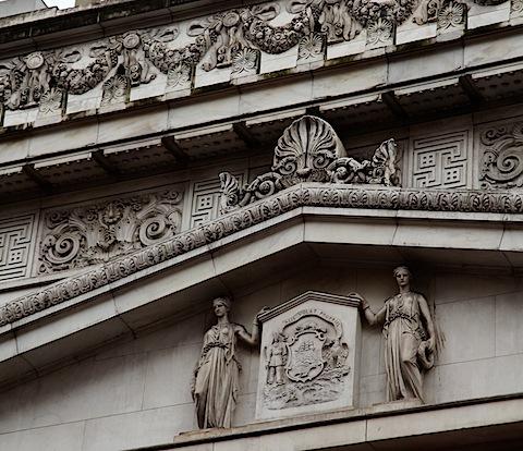 Old Bank Building Detial