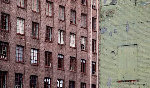 Buildings Juxtaposed