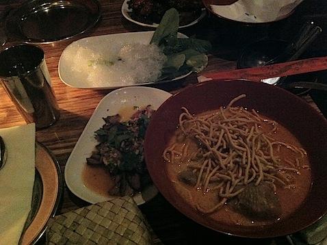 Food at Pok Pok